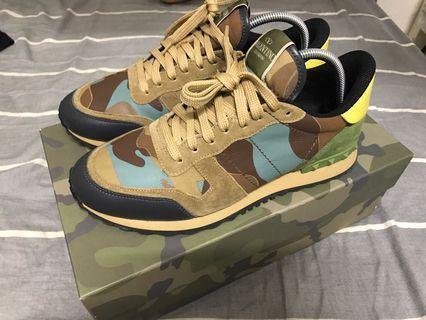 Valentino runner rocd stud sneakers