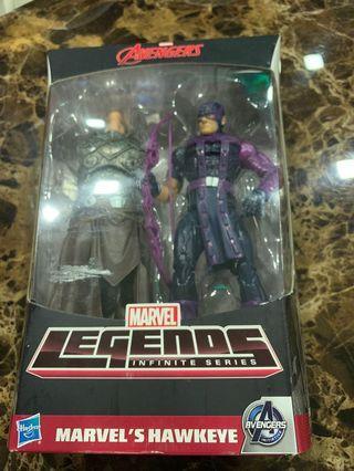 Hasbro marvel legends avengers Hawkeye baf the all father