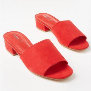 Rubi red slides