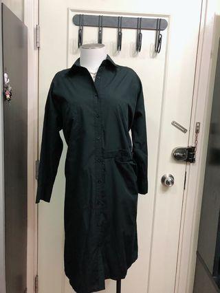長身裙黑色胸48吋全長49吋