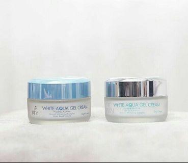 PIXY White Aqua gel day + Night cream 18 gr