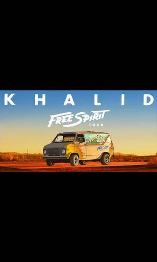 X2 KHALID GA STANDING TICKETS 2019