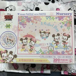 🚚 迪士尼櫻花-米奇心型拼圖