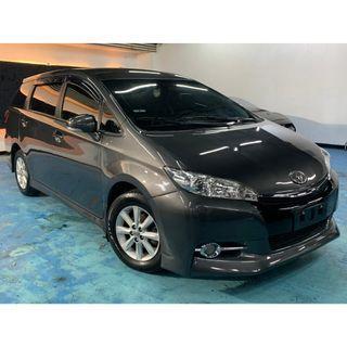 2011年尾 最新款二代Toyota Wish 2.0E  真心不騙只賣28.8萬