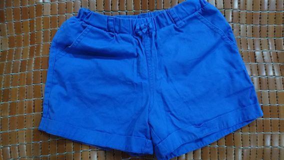 Net藍色短褲(10/11)(4-6歲)