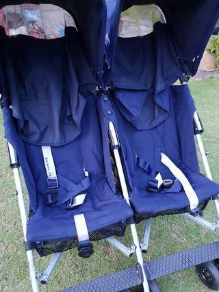 Maclaren Twin Triumph Techno Stroller