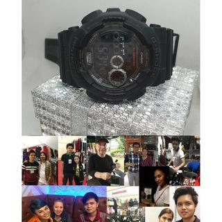 Authentic Casio G-Shock Watch GD-100-1B Regular timekeeping Watch