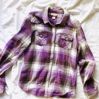 Mossimo Supply Co. Plaid Button Down