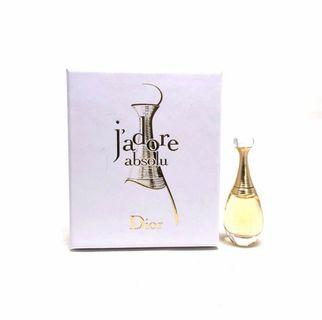 DIOR J'adore Absolu 香水 perfume 5ML