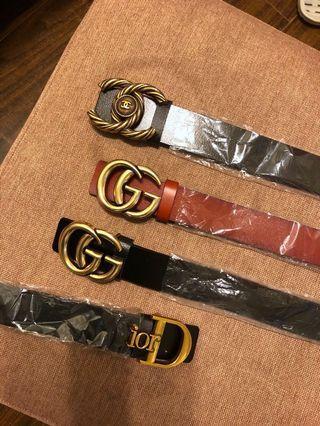 韓版 Gucci 香奈兒 小香風 皮帶  小香皮帶 小香 預購