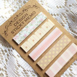 [Sold - 100 pcs] Garden Party - Floral Sticky Notes.