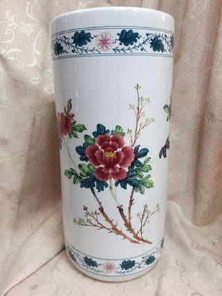 落款 藝術花瓶 插花花瓶 花開富貴