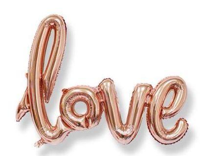 Love sign balloon