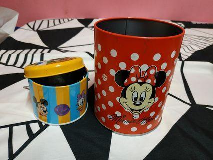 Disney stationery tin storage