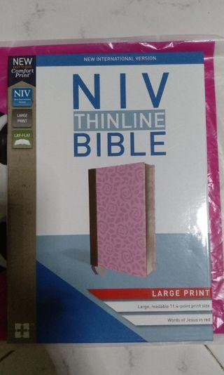 BNIB NIV Large Print Bible