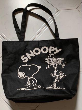 Snoopy Canvas Tote Bag