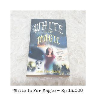 Buku white is for magic