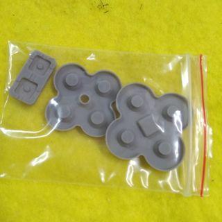 NDSL NDS Lite 導電膠 修理用手掣 十字掣 按鈕 一套三件
