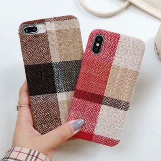 Iphone 7/8+ case brown