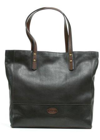 Fossil zoey black leather