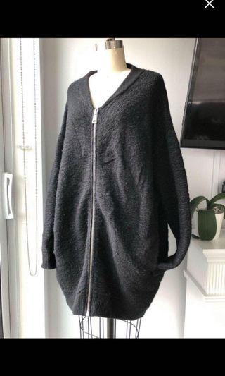 Zara oversized cardigan size small