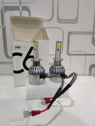 C6 LED Headlight H1 6000K White