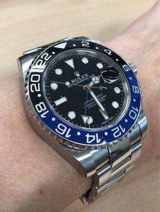 Rolex GMT II, Batman ref 116710BLNR