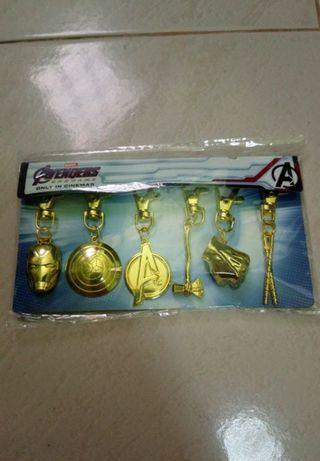 Avengers: Endgame bag charms