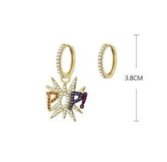 POP / KALEIDOSCOPE / EYE Zirconia Earrings like APM style