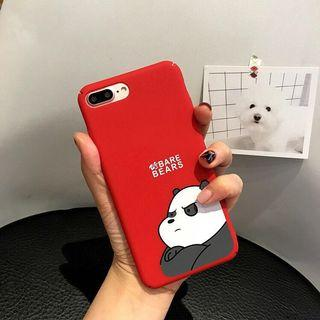 Iphone 7/8+ case we bare bears