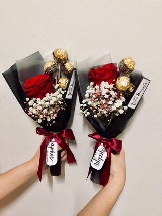 🎓 Graduation Bouquet // Chocolate bouquet // 🌹 Rose bouquet