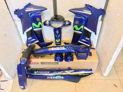 Coverset 125zr movistar original HLY YAMAHA