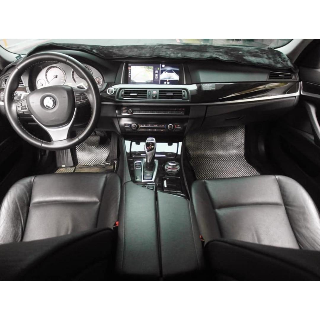 💕睿睿中古車💕2010年 BMW 黑 F10 523i 車在桃園