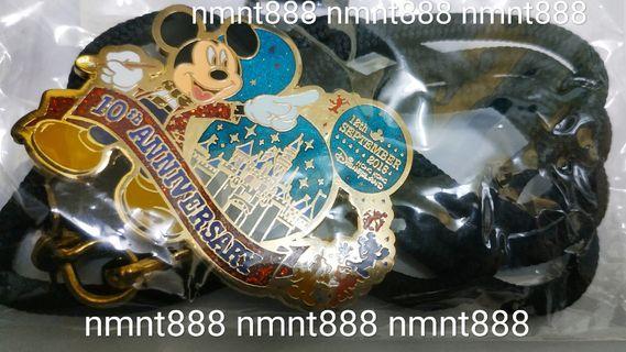 Disney 迪士尼 10週年 十週年 Happy Ever After 員工 CE CM 版 限量 紀念 掛繩