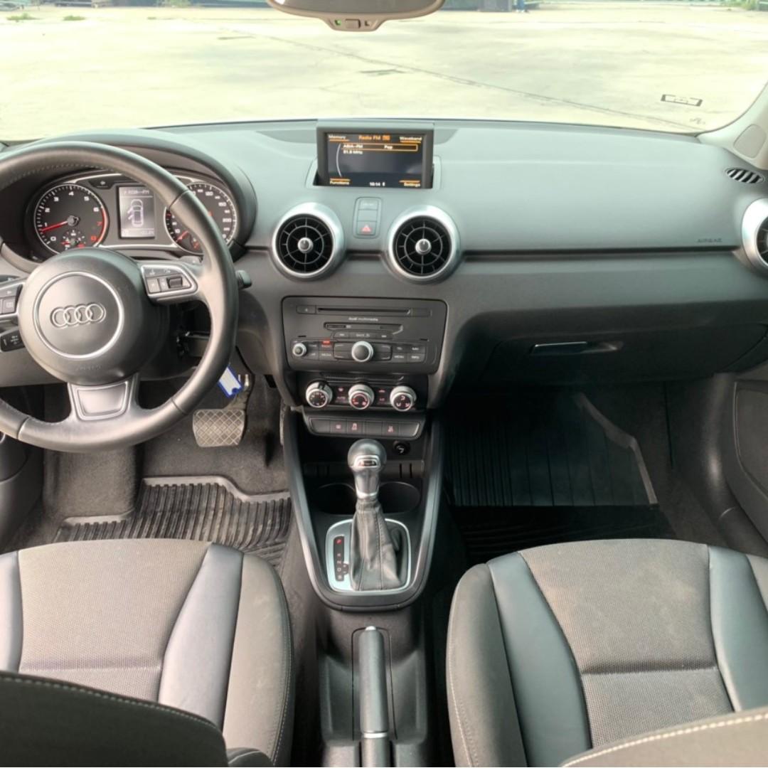 2014年 白 奧迪A1 跑5萬 預售價 42.8