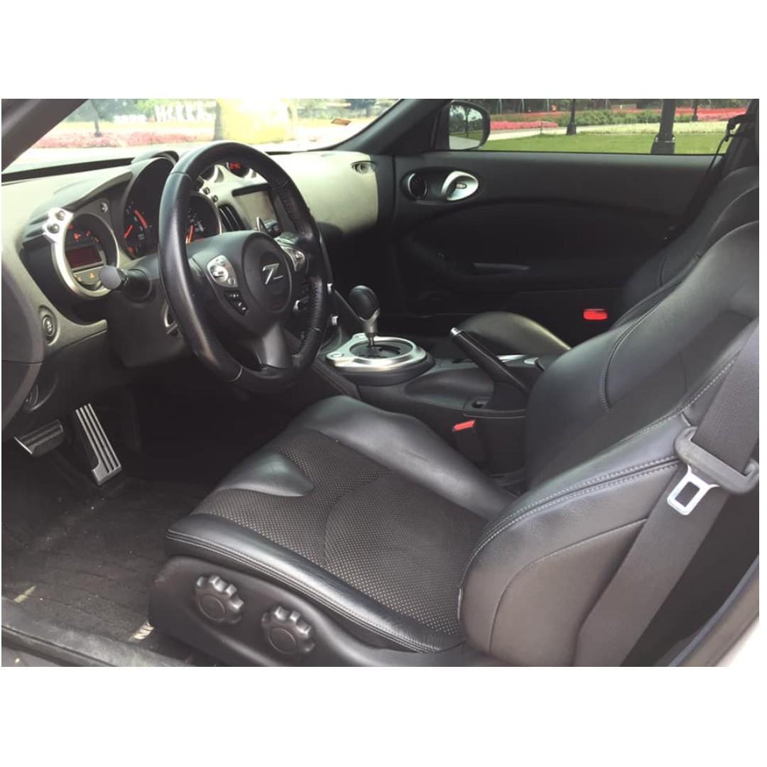 💕睿睿中古車💕2015年 Nissan 370Z 白 車在桃園