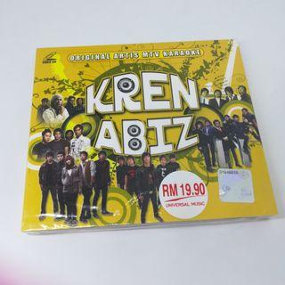 VCD KrenAbiz MTV Karaoke D'Masiv Samsons Nidji Letto Geisha Peterpan Project Pop Sierra Dewi Sandra
