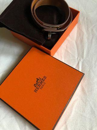 bb62b83ee09 HERMES KELLY DOUBLE TOUR
