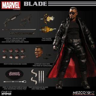 [In hand] Mezco One:12 Marvel's Blade