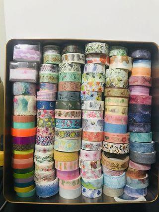 Washi Tapes/Washi Tape Samples/ Washi Tape Sample Grabbags
