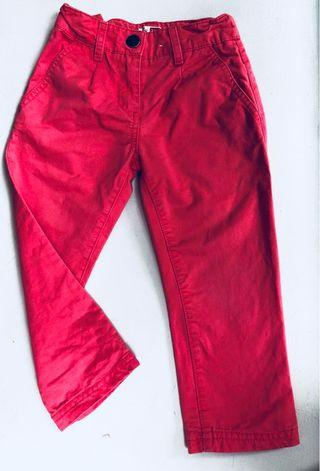 Baby red pants 94 CM 3 years old