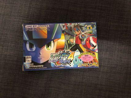 Rockman EXE 4 Gameboy Advance Game