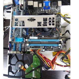 🚚 Intel® Core™ i5-3350P+M/B【4 CORES 4 Threadeds】 Assembly kit