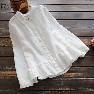 3xl White Top - New with tag