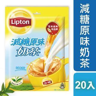 立頓原味減糖奶茶量販包(17gX20入/包)