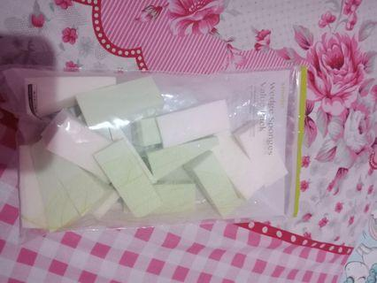 Miniso wedge sponges value pack