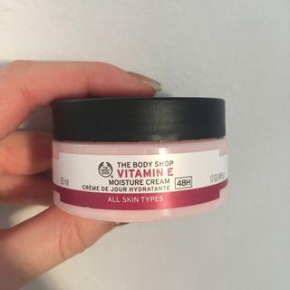 The body shop Vitamin E moisture cream for all skin types 50ml
