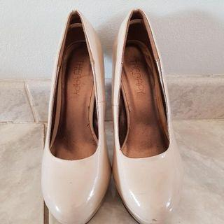 Therapy Nude Patent Heels
