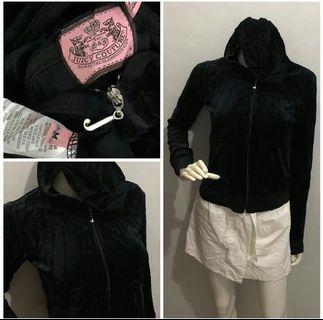Juicy Couture Velour Black hoodie