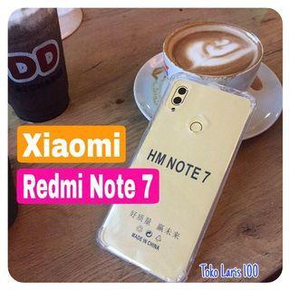 Softcase Anticrack Xiaomi Redmi Note 7 Silikon Cover Bening